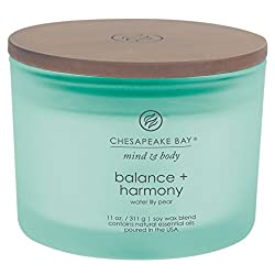 Chesapeake Bay Candle Scented Candle, Balance + Ha