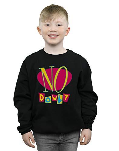 Noir Sweat Garçon Logo Cult Doubt shirt Kingdom No Tragic Absolute AzqPOxa