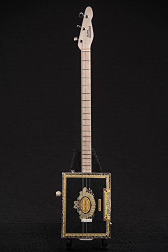 St. Blues Professional 3 String Patagas Cigar Box Guitar with Bag - 3cb Bag