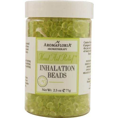 romafloria INHALATION BEADS 2.5 OZ BLEND OF TEA TREE, ROSEMARY, AND PEPPERMINT (PRESERVATIVE... ()