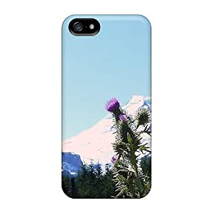 Premium UeyeT2556wQxCO Case With Scratch-resistant/ September Mount Baker Case Cover For Iphone 5/5s by icecream design