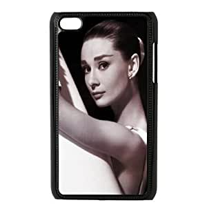 Custom High Quality WUCHAOGUI Phone case Movie & TV Super Star Audrey Hepburn Protective Case FOR IPod Touch 4th - Case-15