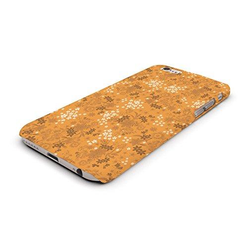 Koveru Back Cover Case for Apple iPhone 6 - Orange Printed Pattern