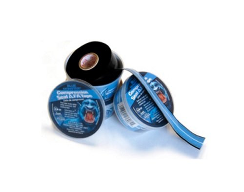 Millrose 76084 Compression Tape 1'' x 12'', 3-Piece Blue Monster