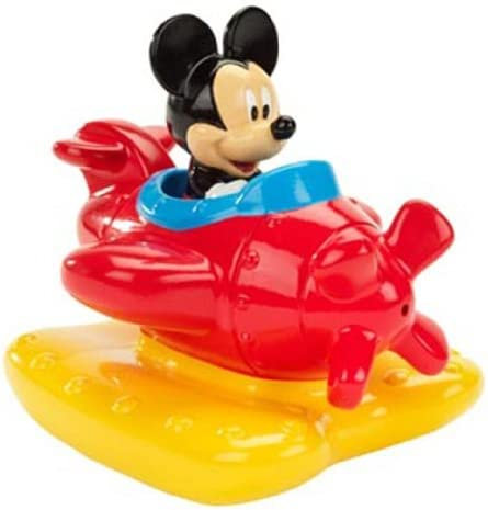 Disney Mickey Mouse /& Donald Duck Squeeze /& Squirt Pals Bath tub Boat Toys 2+