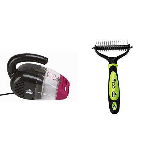 Corded Pet Hair Eraser Hand Vac+Fur-Get-it-Brush