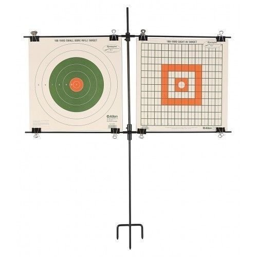Allen Allen Co 1529 Steel Frame Paper Target Stand w/ 8 Clips price tips cheap