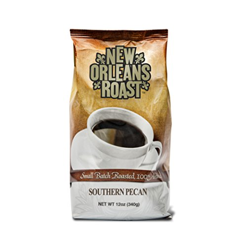 New Orleans Roast Coffee & Tea Southern Pecan Ground - Coffee New Roasted Orleans