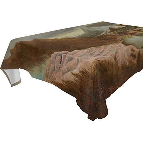 BYouLockX Terraces Slideshow Pattern Rectangle Tablecloth 90x120(in)