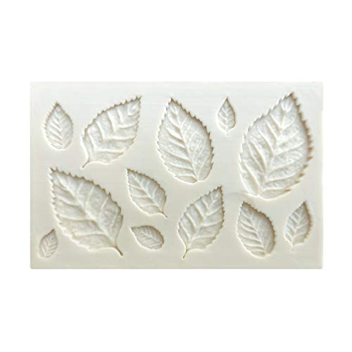 Leaves Shaped Cake Decorating Mold DIY 3D Fondant Chocolate Baking Silicone Mould Sugar Craft Tool