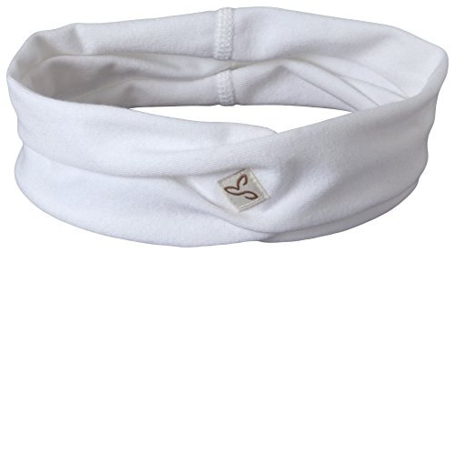 Prana Cotton Headband - prAna Women's Headband, White, One Size