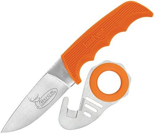 Hook Orange (Kershaw Buck Commander 1028ORZIPBCX Antelope Hunter II Knife with Zipit Gut Hook, Orange)