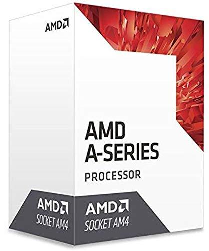 AMD AD9600AGABBOX Processor Quad-Core with Radeon R7 Graphics, 7Th Generation