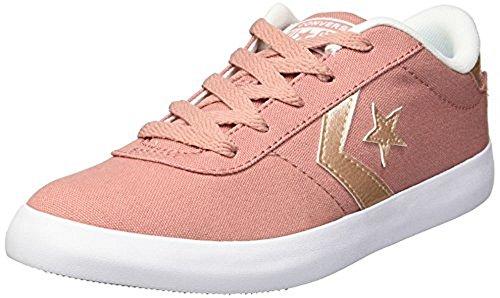 - Converse Girls' Point Star Sneaker, Pink/Milk, 13 M US Little Kid