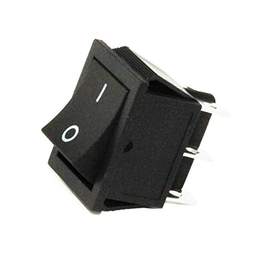 - U.S. Solid 6 Pin Snap in Rectangle Rocker Latching ON/Off Car/Boat Double Pole Double Throw Switch Head 25mm x 31mm; 20A/125VAC; 16A/250VAC (4 Pack) from