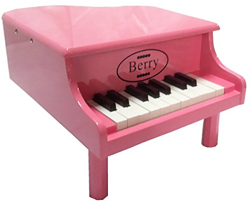 Little Grand (Berry Toys 18-Key Baby/Toddler Little Grand Piano, Pink)