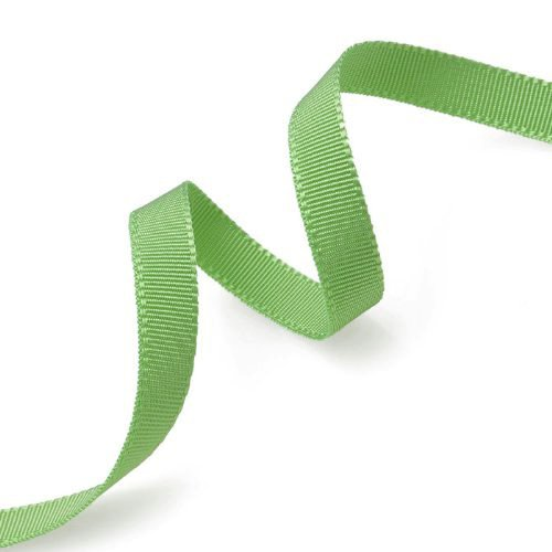 - Grosgrain Ribbon 3/8-Inch Lime Green by 50 Yards