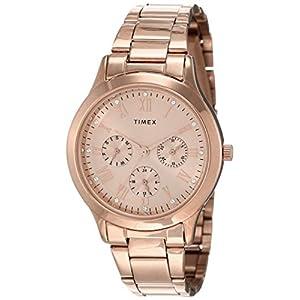 Timex Analog Gold Dial Women's Watch – TW000Q810