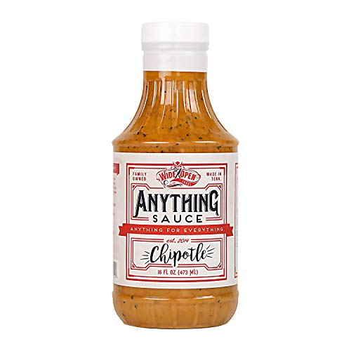 Wide Open Foods Anything Sauce - All Natural Flavorful Cooking For Home & Kitchen Use (Chipotle, 1 Pack)