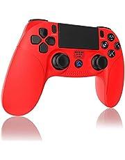 TUTUO Mando para PS4, Inalámbrico Gamepad Wireless Bluetooth Controlador Controller Joystick con Vibración Doble Remoto Compatible con Playstation 4/PS4 Slim/Pro and PS3