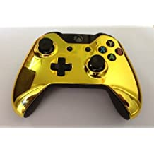 Gametown® Chrome Controller Top housing Shell Case for Xbox one Color Gold