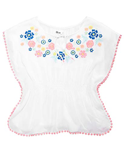 Epic Threads Embroidered Caftan Top, Big Girls, -