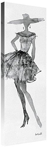 Global Gallery Anne Tavoletti 'Fashion Sketchbook V' Giclee Stretched Canvas Artwork 12 x 36