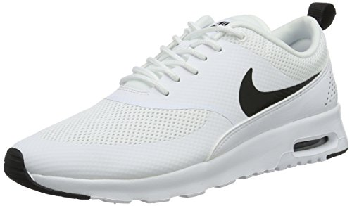 Black Basses NIKE Thea Air White Baskets Max Femme Blanc qI6a8Zwx