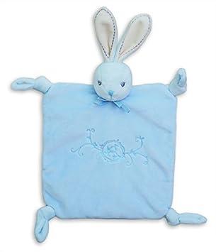 Kaloo Perle Doudou Knots Rabbit (Blue) by Kaloo
