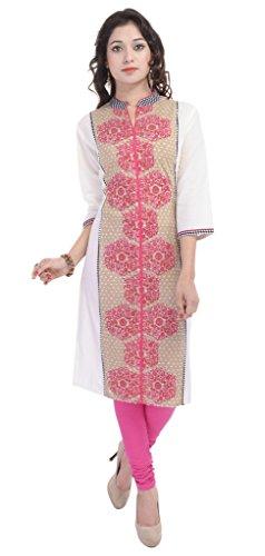 be5064e8149 Vihaan Impex Indian Kurtis for Women Kurti Kurtas for Women Bust Size 44  Inches Multicolor Kurti