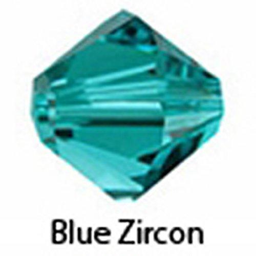 50 Bicone Czech Glass Beads - 4