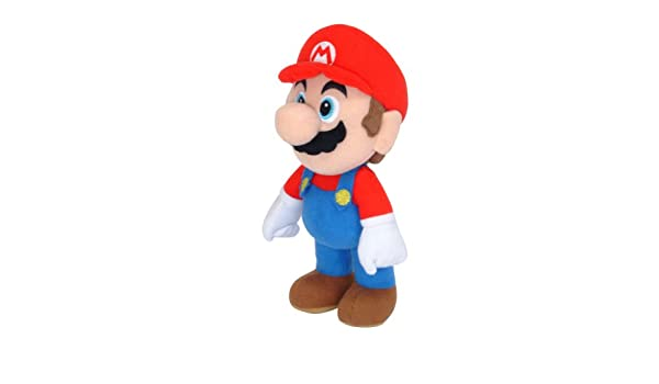 Amazon.com: Together - Peluche Mario Bros 20cm - 5016743098001: Toys & Games