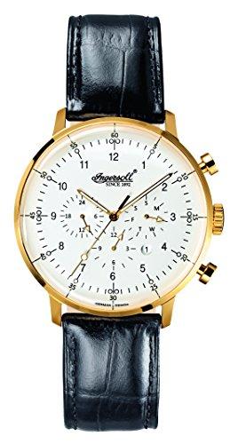Ingersoll Men's IN2816GWH Houston Analog Display Automatic Self Wind Black Watch