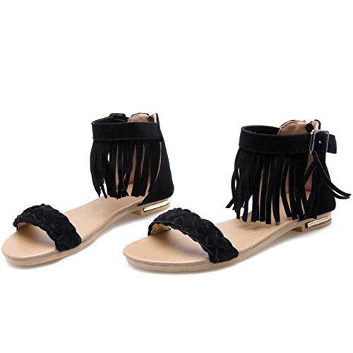 XINRD - zapatilla baja mujer negro