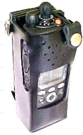 - USA Made BEE Leather Holster with Swivel for Motorola XTS-2500 Portable Radio (Radio with LCD Display)