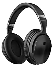 Mpow Cuffie Bluetooth, Active Noise Cancelling Headphones, Cuffie Bluetooth Stereo Hi-Fi, Autonomia 30 Ore, Active Noise Cancelling Headphones Pieghevole per Riposo/Viaggio/Huawei/iPhone/Samsung