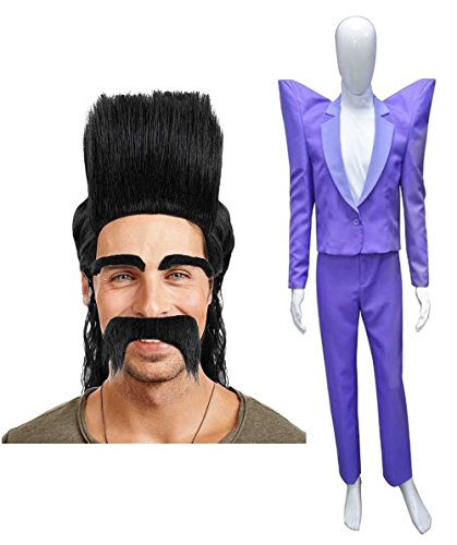 Halloween Party Online Balthazar Bratt Wig & Costume Bundle Adult (S) HC-047/HM-122]()