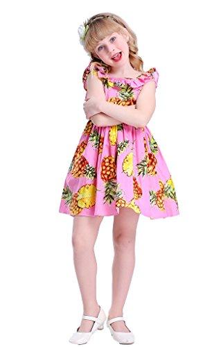 Happy Rose Little Girls Dress Summer Dress Beach Dress Sleeveless