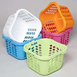 Ddi Square Laundry Basket With 3 Handles(Pack Of 12)