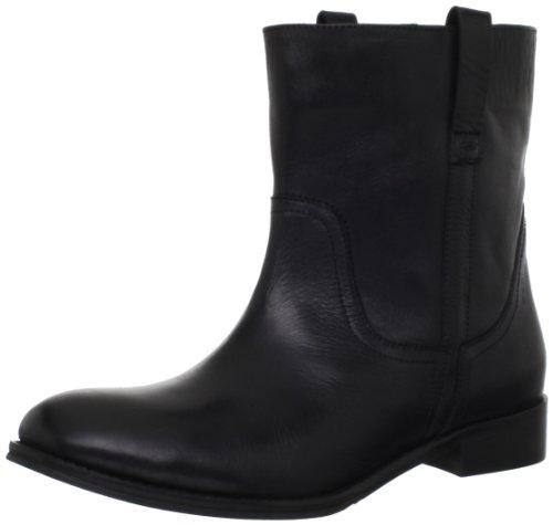 Diba Womens Reb Bell Boot Moto Nero / Vachetta / Karim Crust