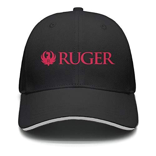 Unisex Cool Cap Hip Hop Vintage Snapback-Ruger-Sturm-Gun-Cotton Hat Flexfit