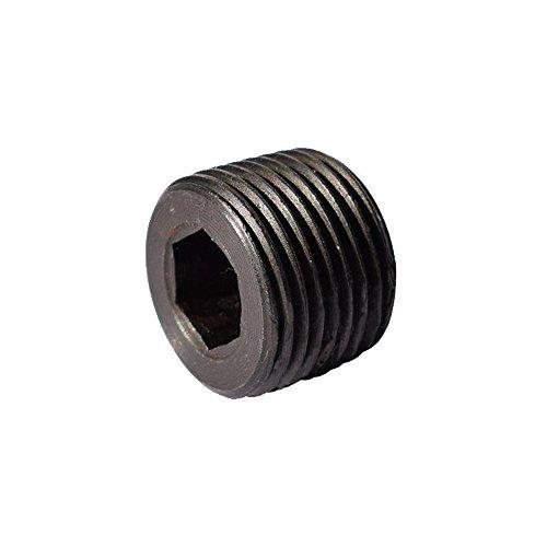 - Metalwork Black Alloy Steel Hex Head Socket Pipe Plug, 1
