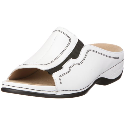 Berkemann Women's Melbourne Jennifer 1008 Clogs & Mules White sale outlet locations recommend discount in China pUhGxJf
