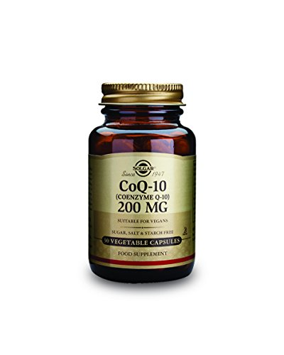 Solgar Vegetarian CoQ-10 Vegetable Capsules, 200 mg, 30 Count (Co Q 10 Vegetarian compare prices)