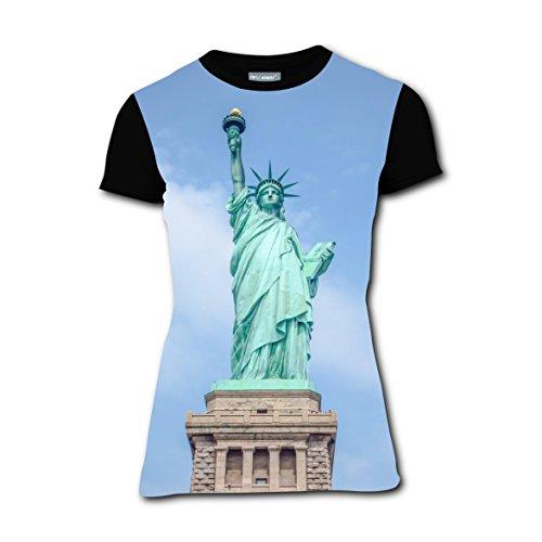 T-shirts Tee Shirt for Women Tops Costume Statue of Liberty USA (Statue Of Liberty Costume Ideas)