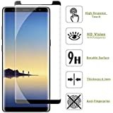 U Believe 5D Tempered Glass with Real-Time Protection for Samsung Note 9 (Transparent)