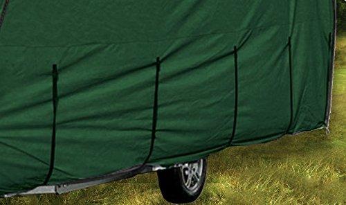 Leisure Depot Premium Caravan Cover 5.32m 14-17ft Heavy Duty Green Breathable Full Cover