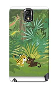 Special Bewailhyper Skin Case Cover For Galaxy Note 3, Popular In The Jungle Mousepad Phone Case