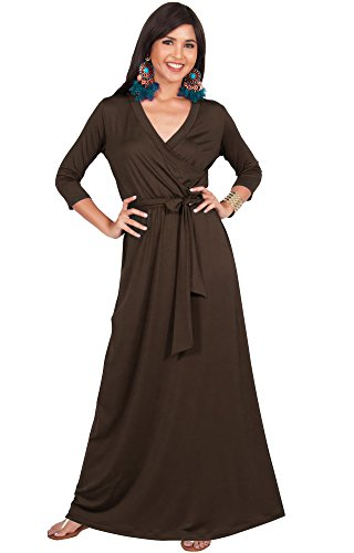 Brown Evening Gowns - 3