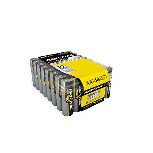 Rayovac AA Batteries, Ultra Pro Alkaline AA Cell Batteries (48 Battery -